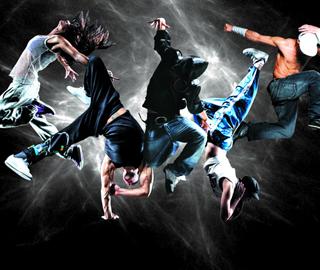 街舞嘻哈背景素材